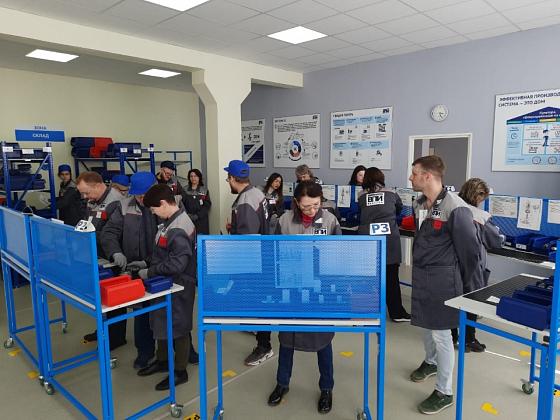 «Фабрика процессов»: почти 300 волгоградских специалистов освоили навыки бережливого производства
